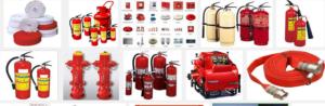 Một số thiết bị phòng cháy chữa cháy